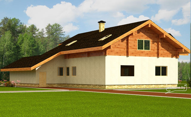 "Timber house ""Aleksi"" 290 m2"