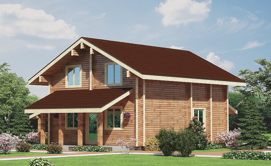Wooden House Plans German Prefab Timber Wooden Home Timber Home Kit House 159 Total Area