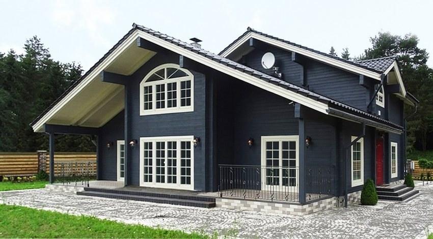 Scandinavian Houses glulam houses in scandinavian style