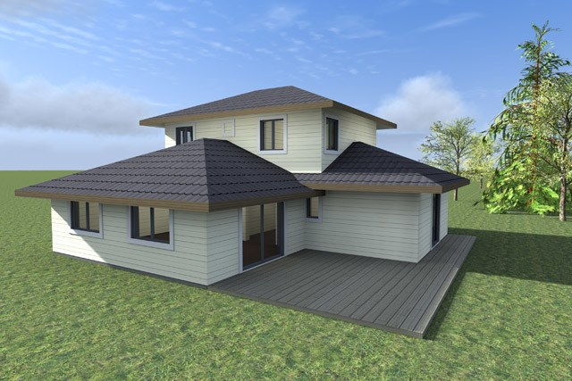 Prefab home plans: wooden home plan Walle 168 m²