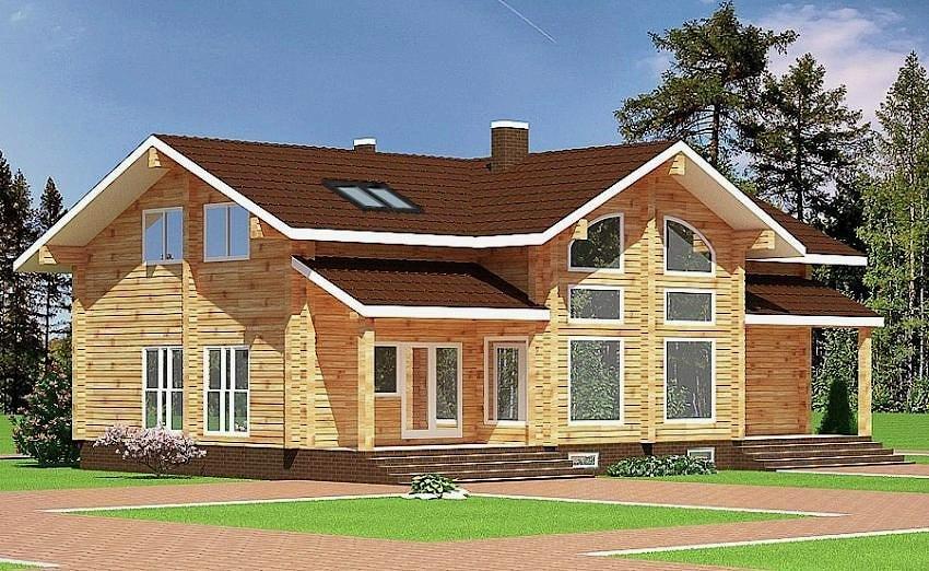 Wooden house plans wooden house plans wooden house blanka 196 m malvernweather Images