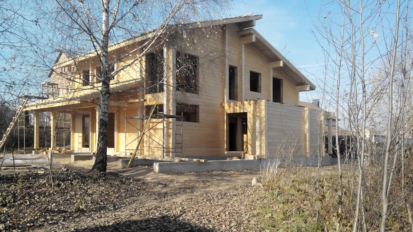 Modern hi tech style wooden house design montana total for Montana style house plans