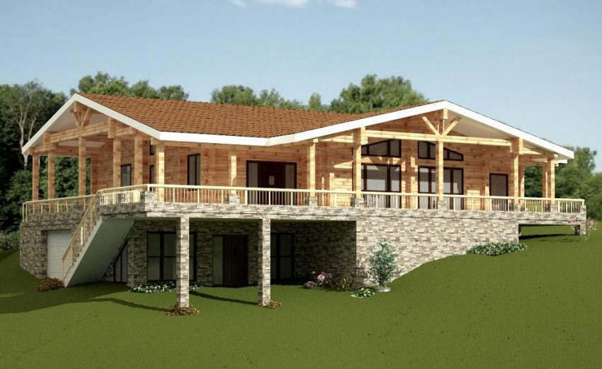 Wooden house plans wooden house plans italian summer wooden homes arlette 309m malvernweather Images