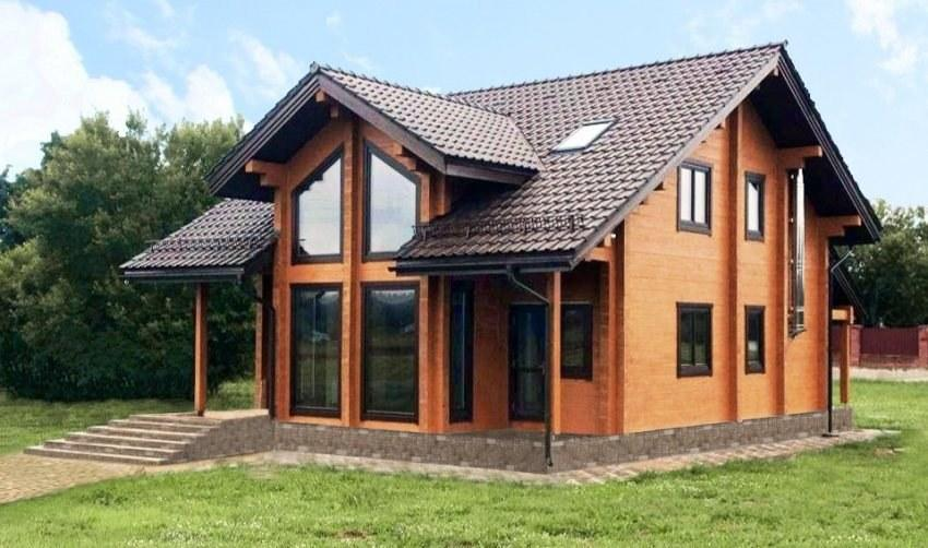 Wooden House Log Timber Design Construction