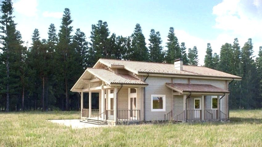 Wooden Country House Design Quot Kalle Quot The Project Of Cozy House Finnish Project