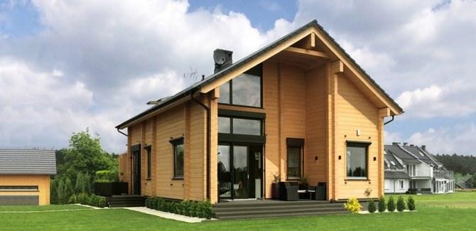 ArchiLine Log Houses